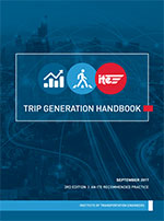 Trip Generation Handbook, 3rd Edition