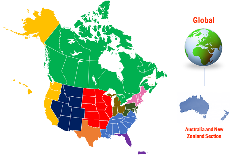 Map Of Canada For Students.Student Chapters Institute Of Transportation Engineers